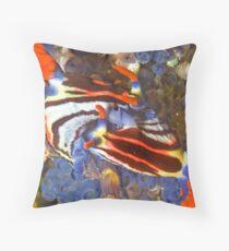 Nembrotha Nudibranch Mating Throw Pillow