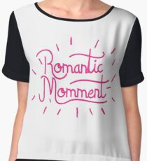 romantic love  Chiffon Top