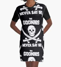 THE GOONIES NEVER SAY DIE Graphic T-Shirt Dress