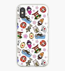 Japan Mania pattern iPhone Case