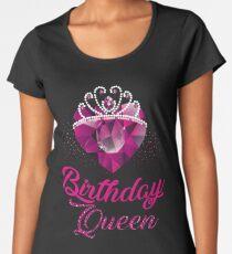 Camiseta premium para mujer Queens nacen en abril