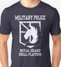 MILITARY POLICE - ROYAL GUARD DRILL PLATOON Unisex T-Shirt