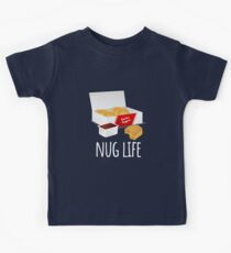 Nug Life - Chicken Nuggets Kids Tee