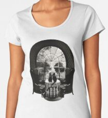 Room Skull Women's Premium T-Shirt
