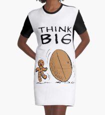 Think Big Shrek Graphic T-Shirt Dress
