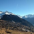 Verbier Mountains  by Monica Carvalho (mofart_photomontages)