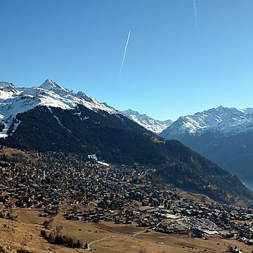 Verbier Mountains  by mouchette111