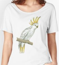 Sulfur crested cockatoo Women's Relaxed Fit T-Shirt