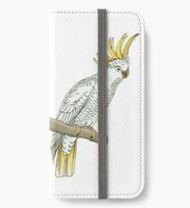 Sulfur crested cockatoo iPhone Wallet/Case/Skin