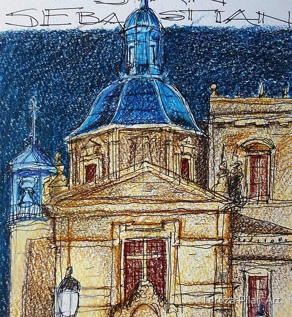 Salamanca. San Sebastian. by terezadelpilar ~ art & architecture
