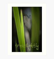 Tread Lightly © Vicki Ferrari Art Print