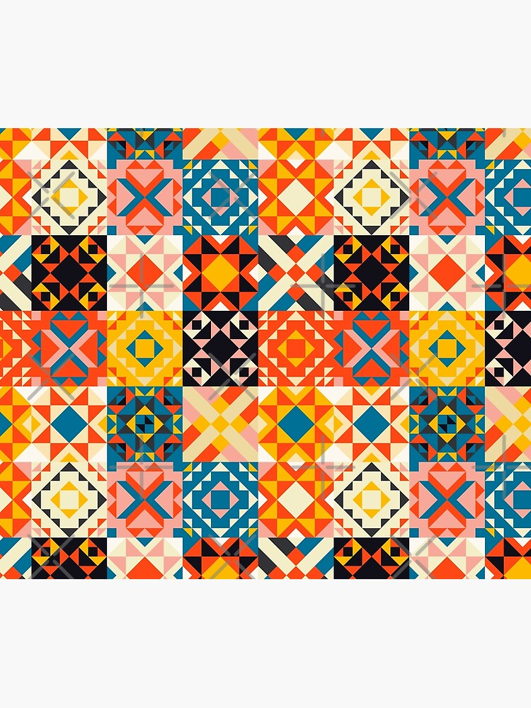 maroccan tile mosaic pattern no2 by ShowMeMars