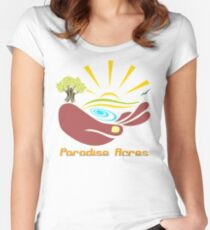 Paradise Acres Women's Fitted Scoop T-Shirt