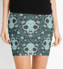 Damascats - Teal Mini Skirt