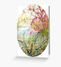 Beautiful view of nature Greeting Card