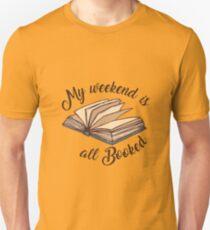 Camiseta ajustada Mi fin de semana está todo reservado