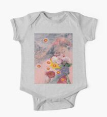 Crying Flowers One Piece - Short Sleeve