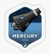 Space Race Serie - MERCURY Sticker
