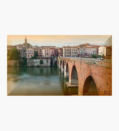Albi - the pink city  Photographic Print