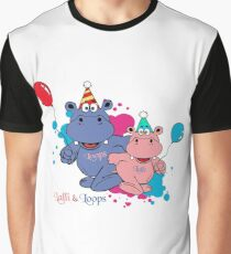 Hippos Hippos Congratulations Graphic T-Shirt