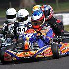 Kart chasing Kart by fotosports