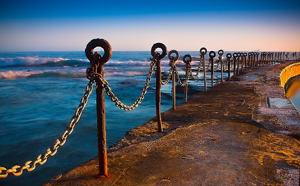 Ocean Baths Newcastle by gizArt