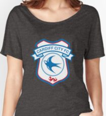Cardiff City FC Women's Relaxed Fit T-Shirt