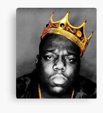 The King Notorious B.I.G Canvas Print
