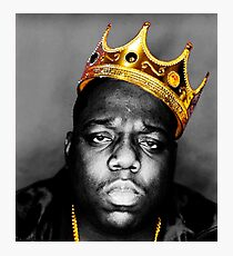 The King Notorious B.I.G Photographic Print