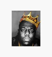 The King Notorious B.I.G Art Board