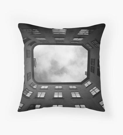 Seeking a way out Throw Pillow