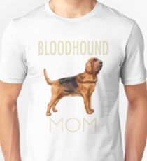 Bloodhound Mom Dog Unisex T-Shirt