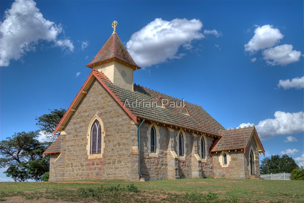 St Marks Anglican Church, Currawong, NSW, Australia by Adrian Paul