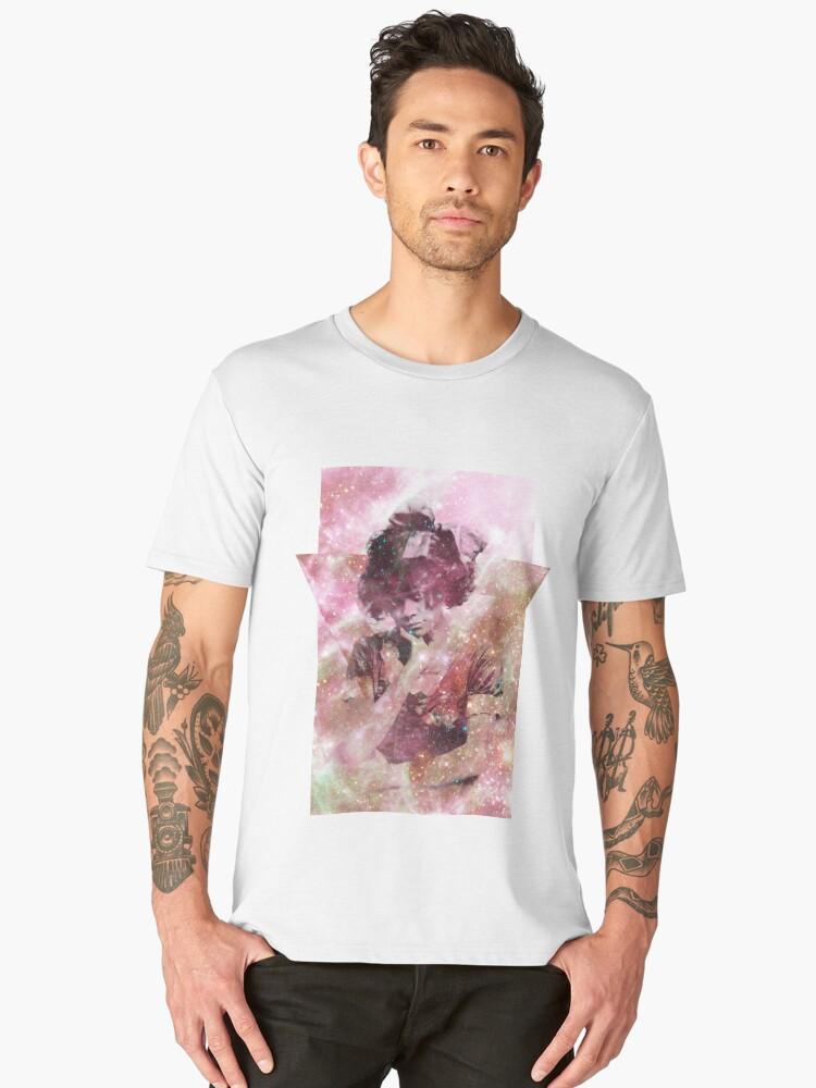 Analogue Mirror Men's Premium T-Shirt Front