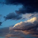 Evening sky at Sunnbüel by Lenka