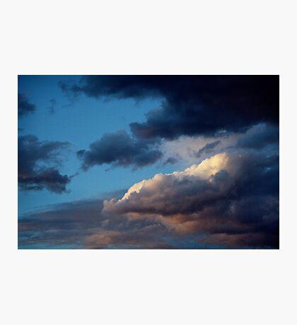 Evening sky at Sunnbüel Photographic Print