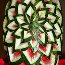 Watermelon Art by Teresa Zieba