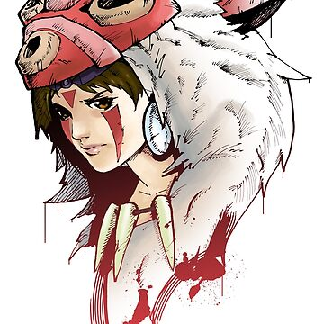 Princess Mononoke by SW-Illustration