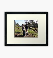 Saluting the View From Skinner Butte Framed Print
