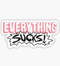 Everything Sucks : Netflix Sticker