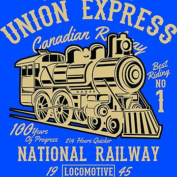 Across The Continent - Union Express - 100 Years Of Progress - National Railway by flipper42