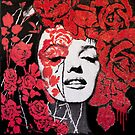 Marilyn Roses and Thorns by Anyes Galleani