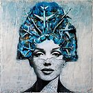 Marilyn in the Airplanes Hat by Anyes Galleani
