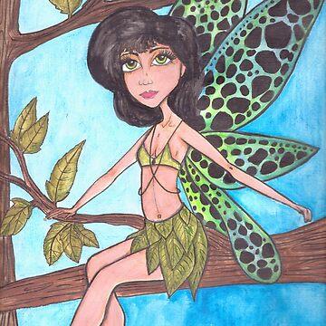 Fairy by JenStedmansArt
