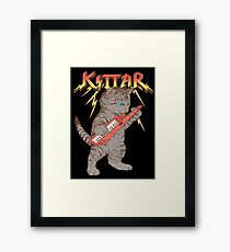 Kittar Framed Print