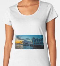 Penarth Pier at Sunrise  Women's Premium T-Shirt