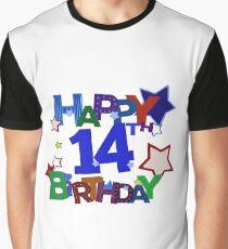Happy 14th Birthday Graphic T Shirt