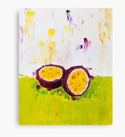 The Fruit and the Passion Canvas Print