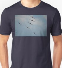 Formation Flying - To a T, Albury, 2008 Unisex T-Shirt
