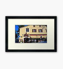 Famous restaurant  Framed Print